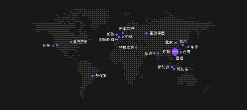 Mobvista 办公室遍布全球