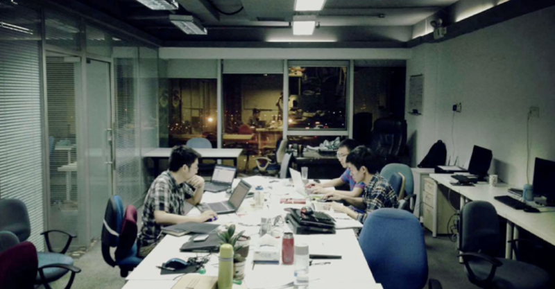 Mobvista`s first office